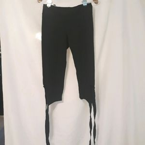 Fp movement black tie capri leggings